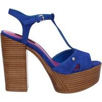 Schoenen Dames Sandalen / Open schoenen Fornarina PE17KY1012S011 Blauw
