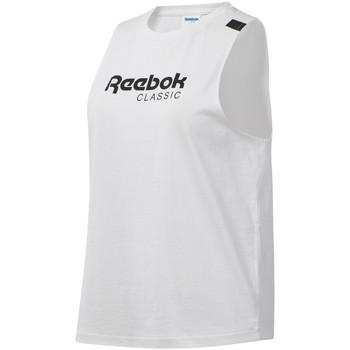 Textiel Dames Mouwloze tops Reebok Sport DT7235 Wit