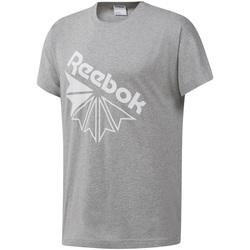 Textiel Heren T-shirts korte mouwen Reebok Sport DT8213 Grijs