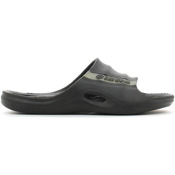 Schoenen Heren Leren slippers Lotto S2128 Zwart