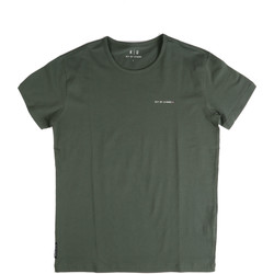 Textiel Heren T-shirts korte mouwen Key Up 2G69S 0001 Groen
