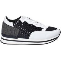 Schoenen Dames Lage sneakers Fornarina PI18SK1123P009 Zwart