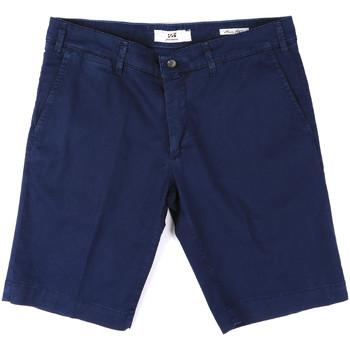 Textiel Heren Korte broeken / Bermuda's Sei3sei PZV132 8137 Blauw