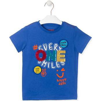 Textiel Kinderen T-shirts korte mouwen Losan 015-1032AL Blauw