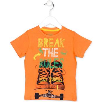Textiel Kinderen T-shirts korte mouwen Losan 715 1214AC Oranje