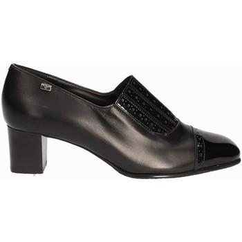 Schoenen Dames Mocassins Valleverde V12024 Noir