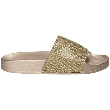 Schoenen Dames Leren slippers Chiara Pacini C18E2506 Geel