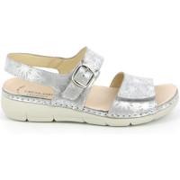Schoenen Dames Sandalen / Open schoenen Grunland SE0459 Zilver
