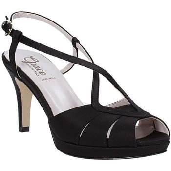 Schoenen Dames Sandalen / Open schoenen Grace Shoes 738E008 Zwart
