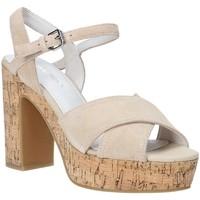 Schoenen Dames Sandalen / Open schoenen Lumberjack SW39906 002 A01 Beige