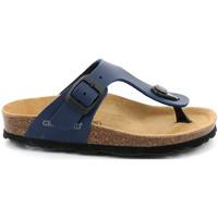 Schoenen Kinderen Slippers Grunland CB0926 Blauw