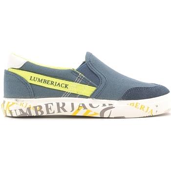 Schoenen Kinderen Instappers Lumberjack SB09105 003 N58 Blauw