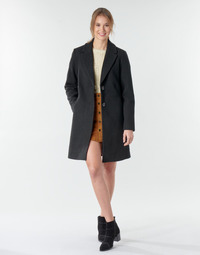 Textiel Dames Mantel jassen Only ONLNATALIA Zwart