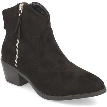 Schoenen Dames Enkellaarzen Festissimo Y328-23 Negro