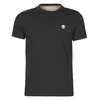 Textiel Heren T-shirts korte mouwen Timberland SS DUNSTAN RIVER POCKET TEE SLIM Zwart
