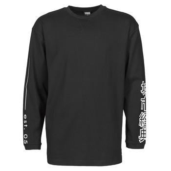 Textiel Heren T-shirts met lange mouwen Urban Classics TB4140 Zwart