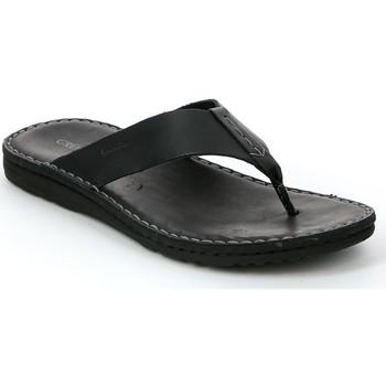 Schoenen Heren Slippers Grunland CI1153 Zwart