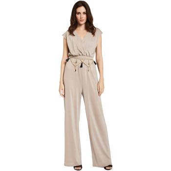 Textiel Dames Jumpsuites / Tuinbroeken Gaudi 011FD24001 Beige