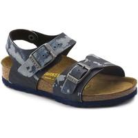 Schoenen Jongens Sandalen / Open schoenen Birkenstock 1004917 Bleu