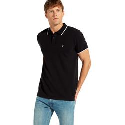 Textiel Heren Polo's korte mouwen Wrangler W7C10K Noir