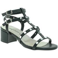 Schoenen Dames Sandalen / Open schoenen Pregunta IL68085-BB Zwart