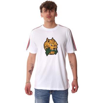 Textiel Heren T-shirts korte mouwen Sprayground 20SP032WHT Wit