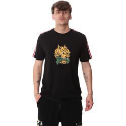 Textiel Heren T-shirts korte mouwen Sprayground 20SP032BLK Zwart