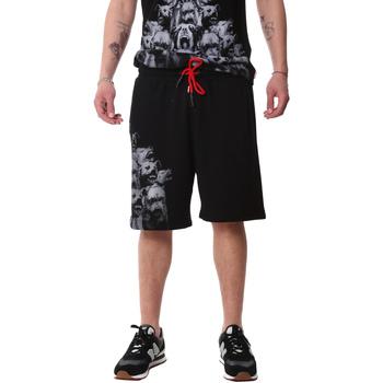Textiel Heren Korte broeken / Bermuda's Sprayground 20SP031 Zwart