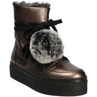 Schoenen Dames Snowboots Mally 5991 Grijs