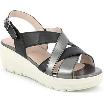 Schoenen Dames Sandalen / Open schoenen Grunland SA1877 Zwart