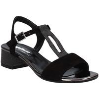 Schoenen Dames Sandalen / Open schoenen Melluso K35106 Zwart