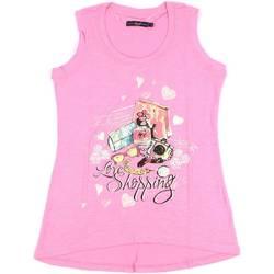 Textiel Dames Mouwloze tops Key Up S88Z 0001 Roze