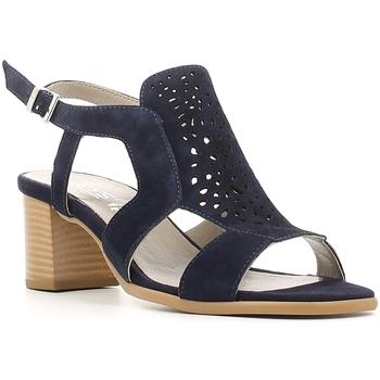 Schoenen Dames Sandalen / Open schoenen Keys 5414 Blauw