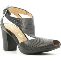 Schoenen Dames Sandalen / Open schoenen Luca Stefani 230104 Zwart