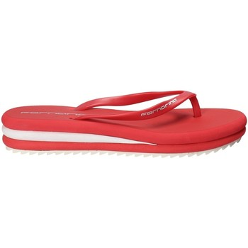 Schoenen Dames Slippers Fornarina PEFOP9526WVAA076 Rood