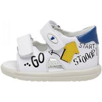 Schoenen Kinderen Sandalen / Open schoenen Falcotto 1500830 01 Blanc