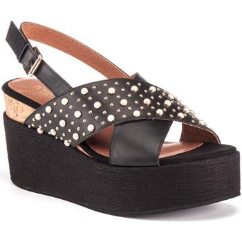 Schoenen Dames Sandalen / Open schoenen Lumberjack SW40006 006 Q12 Zwart