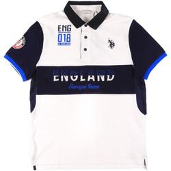 Textiel Heren Polo's korte mouwen U.S Polo Assn. 43773 41029 Wit