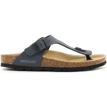 Schoenen Kinderen Slippers Grunland CB0927 Blauw