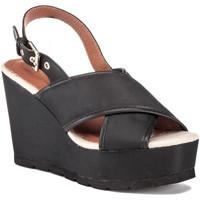 Schoenen Dames Sandalen / Open schoenen Lumberjack SW57906 001 M14 Zwart
