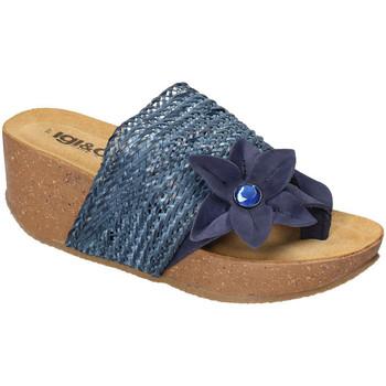 Schoenen Dames Sandalen / Open schoenen IgI&CO 3199411 Blauw