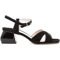 Schoenen Dames Sandalen / Open schoenen Café Noir ME571 Zwart