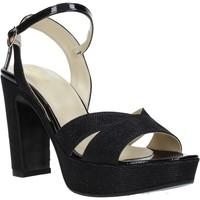 Schoenen Dames Sandalen / Open schoenen Grace Shoes JN 103 Zwart