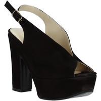 Schoenen Dames Sandalen / Open schoenen Grace Shoes TQ 107 Zwart