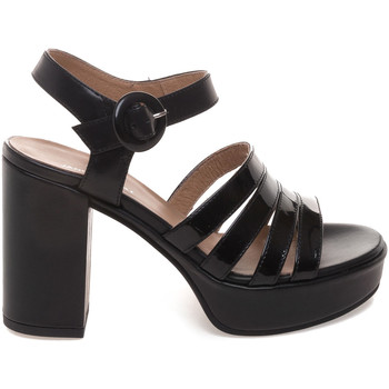 Schoenen Dames Sandalen / Open schoenen Janet Sport 43875 Zwart