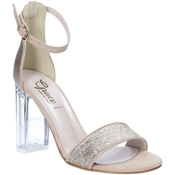 Schoenen Dames Sandalen / Open schoenen Grace Shoes 018TR003 Beige