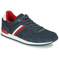 Schoenen Heren Lage sneakers Tommy Hilfiger ICONIC MATERIAL MIX RUNNER Marine
