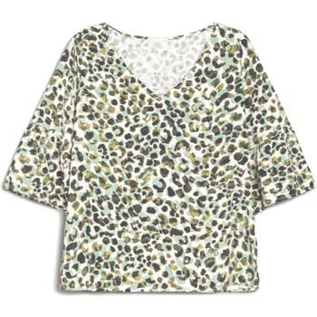 Textiel Dames T-shirts korte mouwen NeroGiardini E062770D Groen