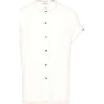 Textiel Dames Overhemden Calvin Klein Jeans K20K201950 Beige