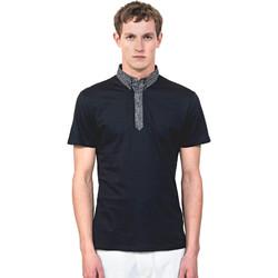 Textiel Heren Polo's korte mouwen Antony Morato MMKS01489 FA100084 Blauw